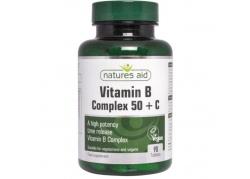 Witamina B Complex B-50 + Witamina C (90 tabl.)