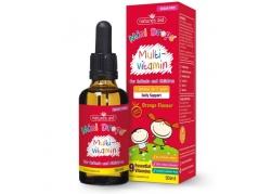 Multi-vitamin Mini Drops - Multiwitamina dla dzieci (50 ml)
