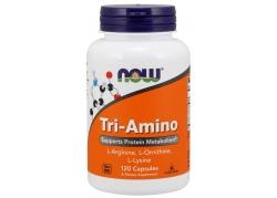 Tri-Amino - L-Arginina + L-Ornityna + L-Lizyna (120 kaps.)
