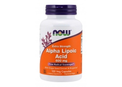 ALA - Kwas Alfa Liponowy 600 mg + Ekstrakt z Winogron + Bioperyna (120 kaps.)