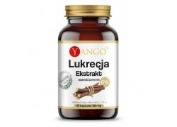 Lukrecja- ekstrakt - zawartość gliceryzyny 6% (60 kaps.)