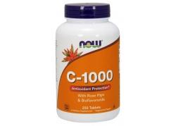 Witamina C 1000 mg z bioflawonoidami i dziką różą (250 tabl.)