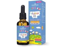 Vitamin D3 Mini Drops - Witamina D3 400 IU dla Dzieci (50 ml)