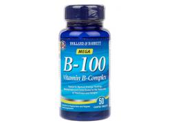 Vitamin B Complex B-100 (50 tabl.)