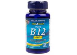Witamina B12 o przedłużonym uwalnianiu (100 tabl.)