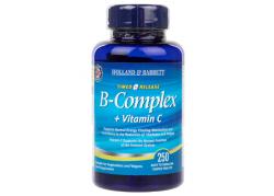 Witamina B-Complex + Witamina C (250 tabl.)