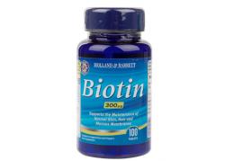 Biotyna - Biotin 300 mcg (100 tabl.)