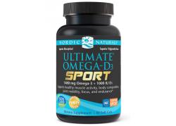 Ultimate Omega-D3 Sport (60 kaps.)