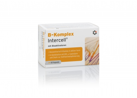 B-Kompleks Intercell® (60 kaps.)