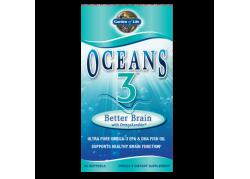 Oceans 3 Better Brain with OmegaXanthin (90 kaps.)