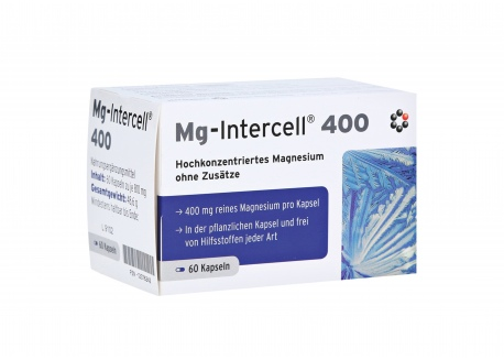 Magnez Mg-Intercell® 400 (60 kaps.)