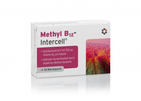 Witamina Methyl B12 - Intercell® (90 kaps.)