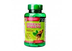 Korean Ginseng 500 mg (100 kaps.)