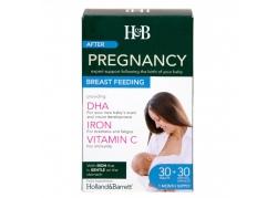 Pregnancy Breast Feeding (30 tabl. + 30 kaps.)
