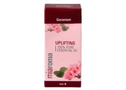 Miaroma Geranium Pure Essentail Oil (10 ml)