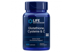 L-Glutation + L-Cysteina + Witamina C (100 kaps.)