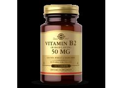 Witamina B2 (Riboflavin) 50 mg (100 tabl.)