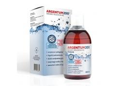 Tonik Argentum200 (25 ppm) Srebro Koloidalne (500 ml)