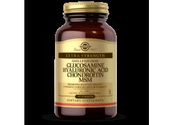 Glukozamina, Kwas hialuronowy, Chondroityna i MSM (60 tabl.)