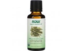 100% Olejek z Citronelli  Certified Organic (30 ml)