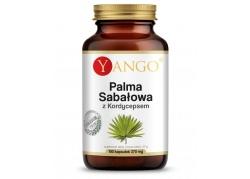 Palma sabałowa z kordycepsem - ekstrakt (100 kaps.)