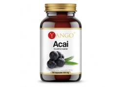 Acai ekstrakt - 5% antocyjanów 420 mg (90 kaps.)