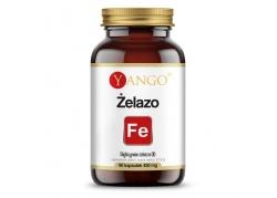 Żelazo - Diglicynian żelaza 100 mg (90 kaps.)