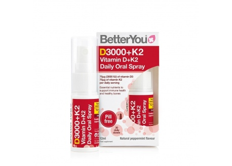 DLUX+ Witamina D3 + K2 MK7 75 mcg w sprayu (12 ml)