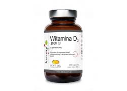 Witamina D3 2000 IU (300 kaps.)