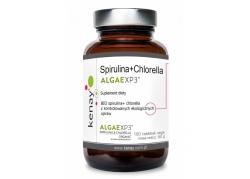 Spirulina + Chlorella ALGAEXP3 (180 tabl.)
