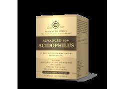 Advanced 40+ Acidophilus - Jelitowa flora bakteryjna (60 kaps.) Solgar