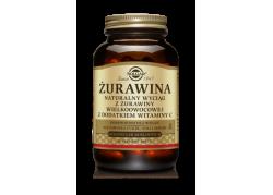 Żurawina - ekstrakt 400 mg z dodatkiem witaminy C (60 kaps.)