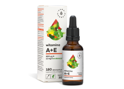 Witamina A + E - Suplement diety w kroplach (30 ml)