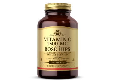 Vitamin C 1500 mg with Rose Hips (90 tabl.)